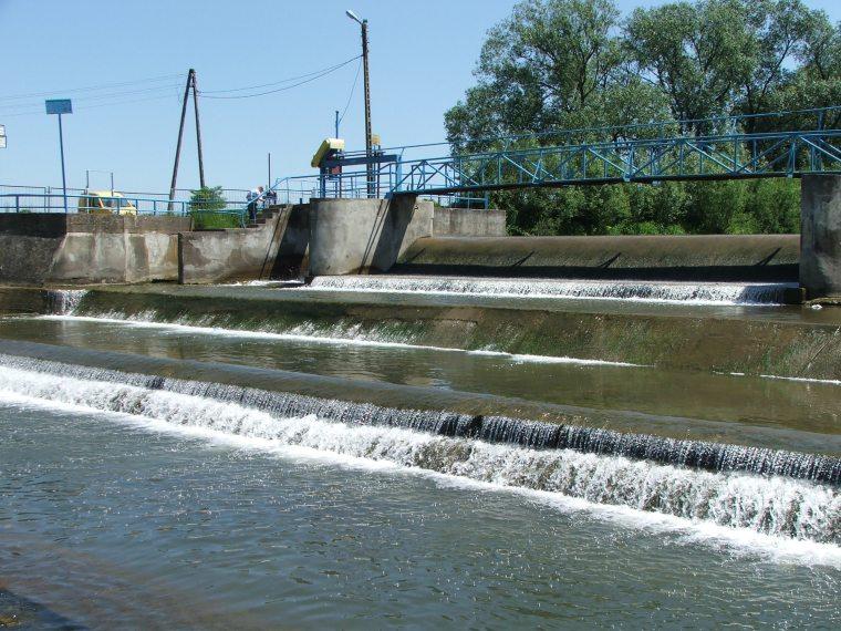 Weir in Szczepańcowa